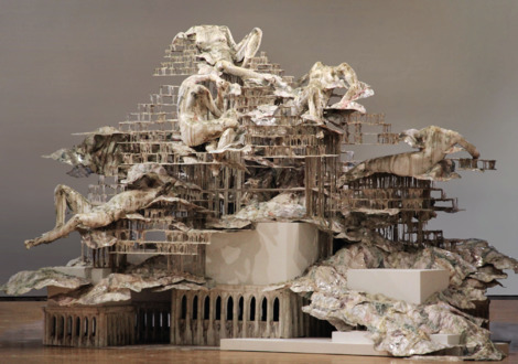Diana Al-Hadid, 'Nolli's Orders', 2012, Bronx Museum of the Arts