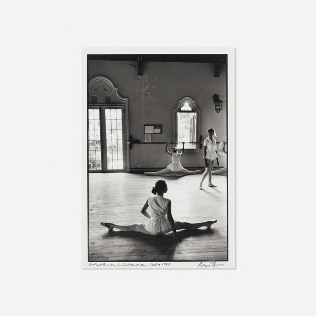 René Burri, 'Ballet Lesson in Cubanacan, Cuba', 1963, Rago/Wright