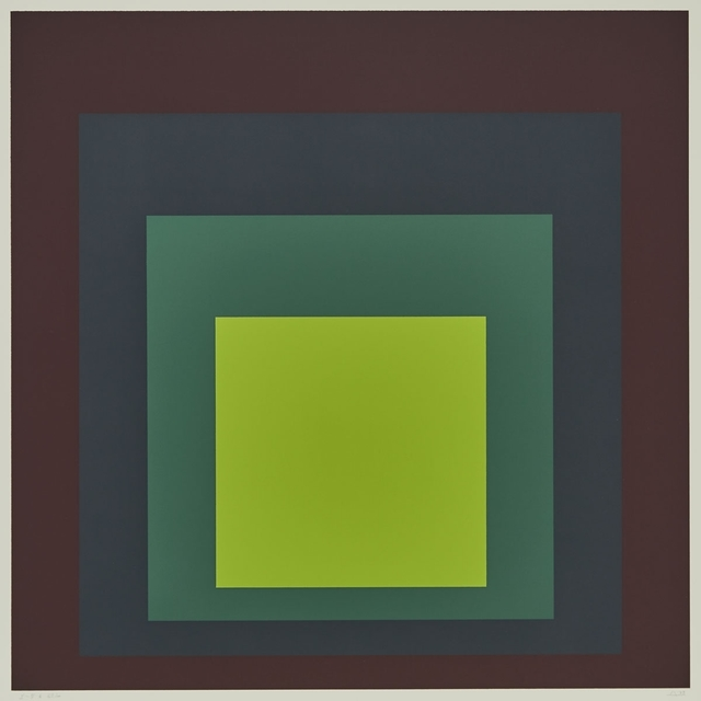 Josef Albers, 'I-S'K (From Homage to the Square)', 1973, Waddington's