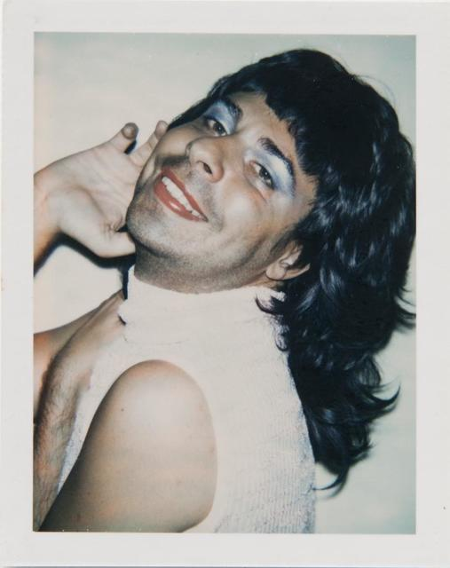 Andy Warhol, 'Andy Warhol, Polaroid Photograph of Bob Colacello in Drag, 1973', 1973, Hedges Projects