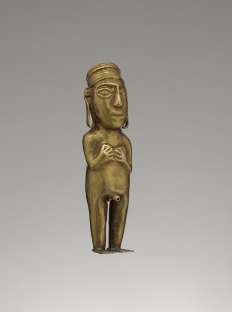 'Male figurine', 1450 -1532, Musée du quai Branly