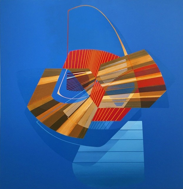 Alex Couwenberg, 'Piko', 2019, Painting, Acrylic on canvas, Melissa Morgan Fine Art