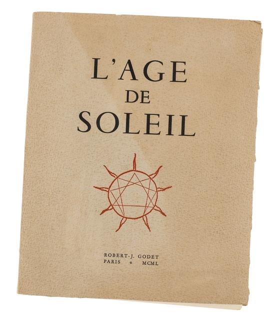 Pablo Picasso, 'Robert-J. Godet, L' Age De Soleil (Cramer 57)', 1950, Forum Auctions