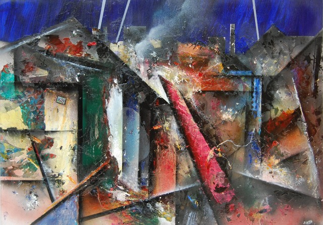 , 'Aftermath,' 2015, Robert Eagle Fine Art