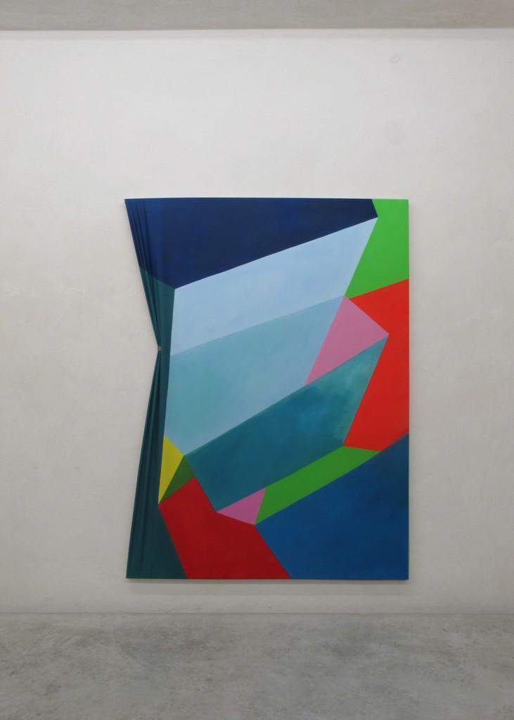 Nicola Melinelli, installation view, 2015 oil on canvas cm 200x160