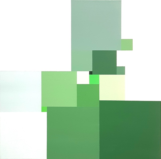 , 'Untitled 21 Squares 18100,' 2018, Robert Kananaj Gallery