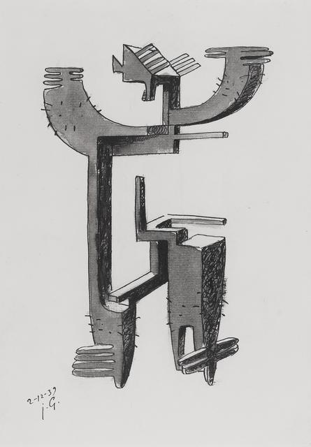 Julio González, 'Etude pour homme cactus', 1939, Moeller Fine Art
