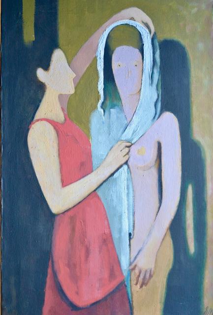 """Ernest Neuschul, '""""der Brautschleier"""" The Bridal Veil', 1959, White Court Art"""