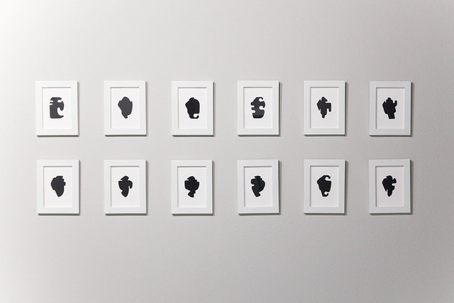 , 'The Shapes Project Shapes From Maine Shape Silhouettes,' 2005-2008, THE CLUB
