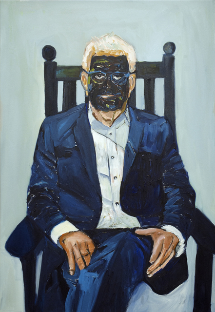 Beverly McIver, 'Larry Inspired by Francis Bacon', 2018, C. Grimaldis Gallery