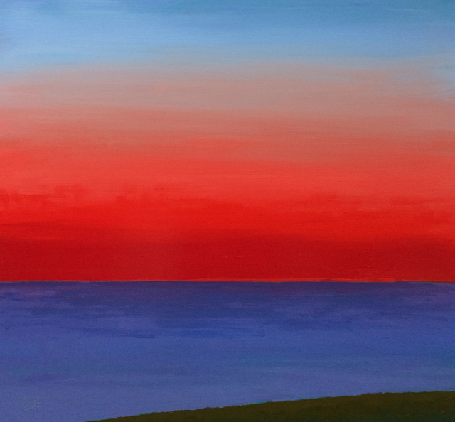 John Karl Claes, 'Red Sky', ÆRENA Galleries and Gardens