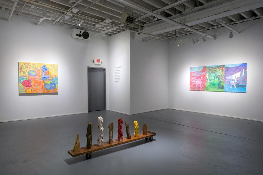 Work by Dennis Congdon, Nicholas Cueva, and Dasha Shishkin in ON THE STUMP at PROTO Gallery