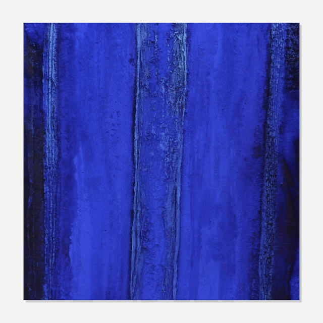 Marcello Lo Giudice, 'Blu Eden', 2016, Painting, Oil and pigment on canvas, Artsy x Rago/Wright