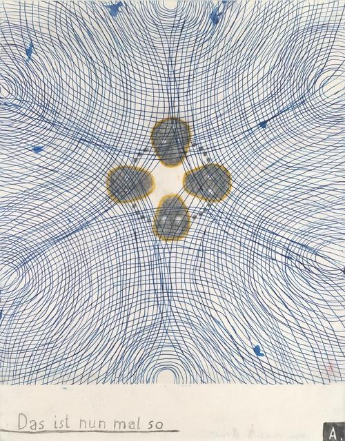 , 'Das ist nun mal so, St Paul #778,' 2016, Patrick Heide Contemporary