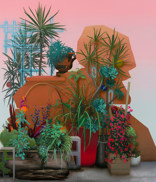 , 'Improvised Garden II (Water Street),' 2017, Rena Bransten Gallery