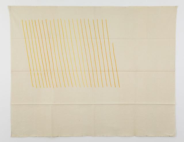 , 'Obliquo giallo,' 1971, Casey Kaplan