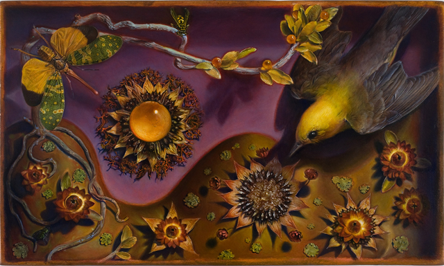 Kevin King, 'Diorama with Sunflowers', 2010, Jason McCoy Gallery