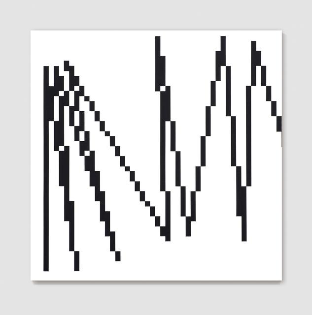 , 'π Pixels 1=3°,' 2008, Gallery Hyundai