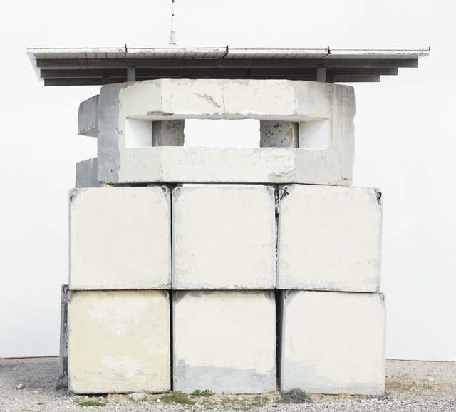 , 'Front (Military Post, Netiv Ha'asara, Gaza Border),' 2017, Zemack Contemporary Art