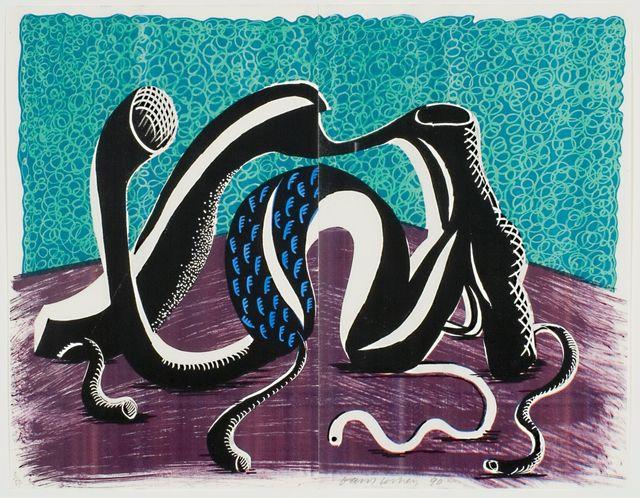 David Hockney, 'Extending February', 1990, Print, Homemade print, bG Gallery