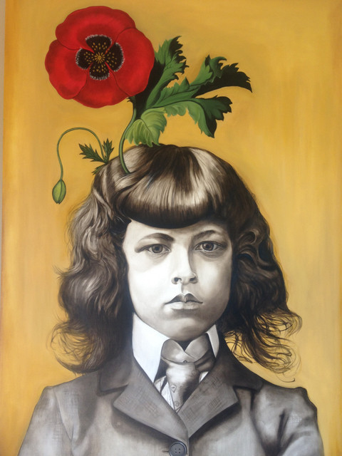 Marianna Gartner, 'Boy with Flowers for Brains 3', 2017, Winchester Galleries