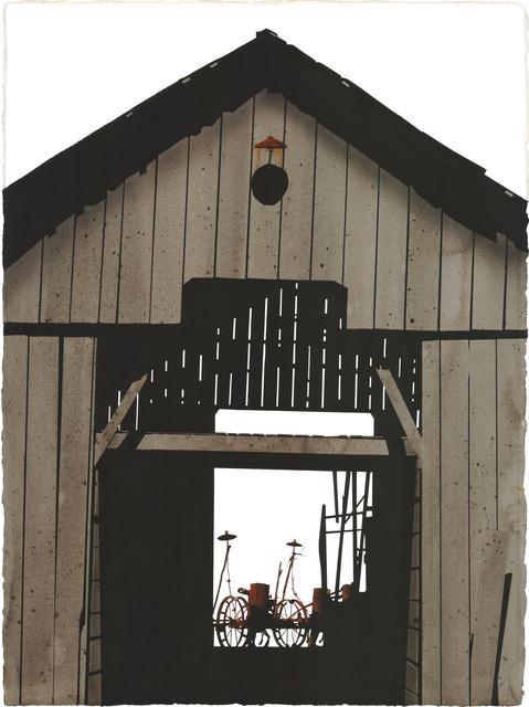 , 'Montgomery County Barn,' 2013, Friesen Gallery