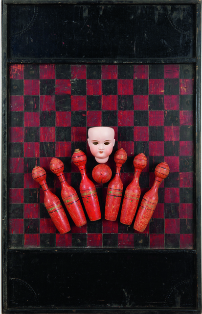 Ilse Getz, 'The Red Game', 1978, International Collage Center