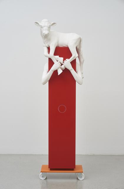 , 'Kalbträgerin,' 2017, Jessica Silverman Gallery