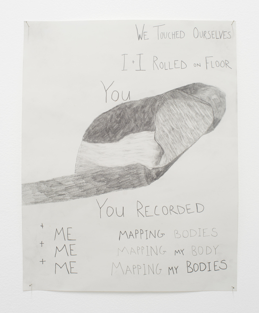 Zoe Avery Nelson, 'Untitled', 2019, Drawing, Collage or other Work on Paper, Pencil on Paper, Rubber Factory