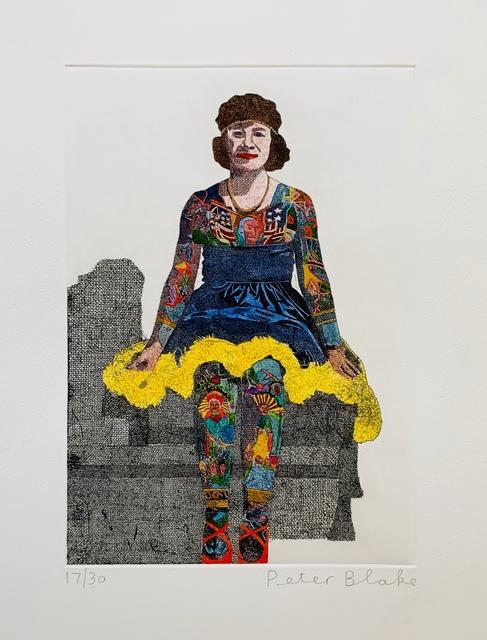 Peter Blake, 'Liberty Beauty Rose ', 2014, Paul Stolper Gallery
