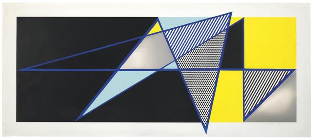 """Roy Lichtenstein, 'Imperfect 44 3/4"""" x 103"""", from Imperfect Series', 1988, Christie's"""