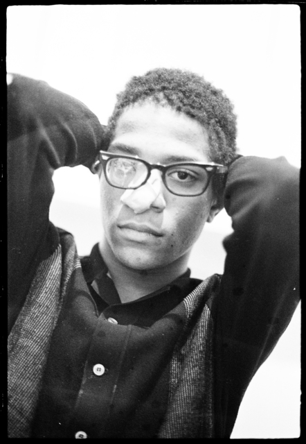 , 'Basquiat in the apartment (Glasses) IV,' ca. 1981, CaribBeing
