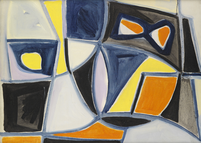 , 'Abstract Composition,' , Whitford Fine Art