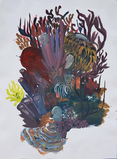 , 'Avec ma maman, chez-elle,' 2017, Galerie Maria Lund