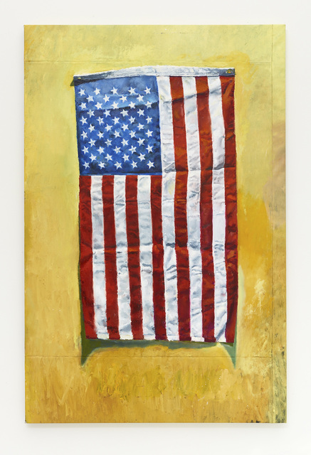 , 'American Flag in Primary Color Scheme,' 2017, Diane Rosenstein
