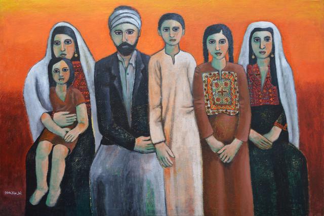 , 'Dabdoub Family,' 2014, Zawyeh Gallery
