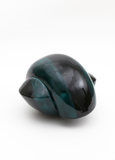 , 'Green-glazed lidded container,' 2015, Ippodo Gallery