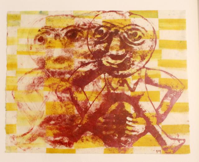 Nancy Spero, 'Sheela dancing', 1996, Galerie Michaela Stock