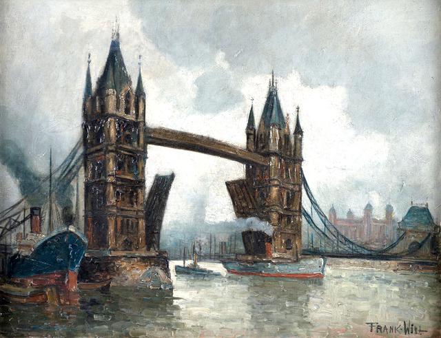Frank Will, 'London Bridge', 1933, Queen Fine Arts
