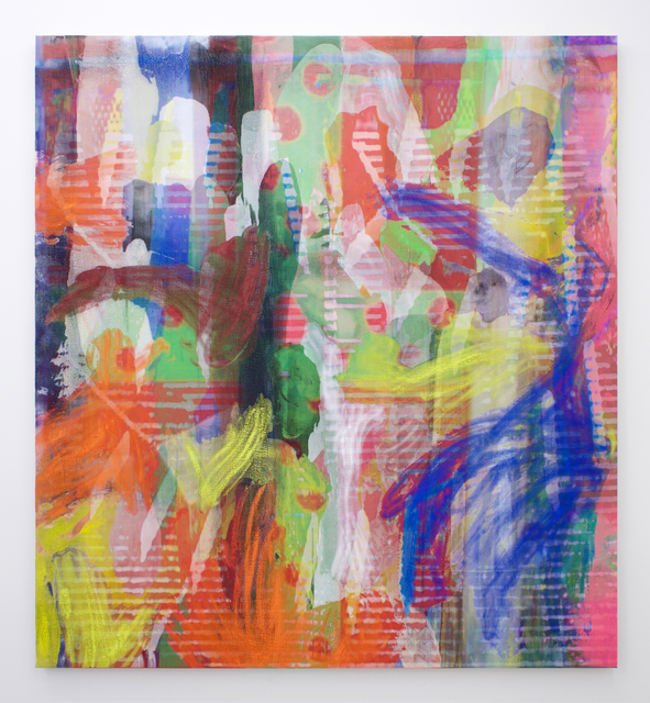 , 'Manifold Painting (Ever Dissonant Futures),' 2017, Romer Young Gallery