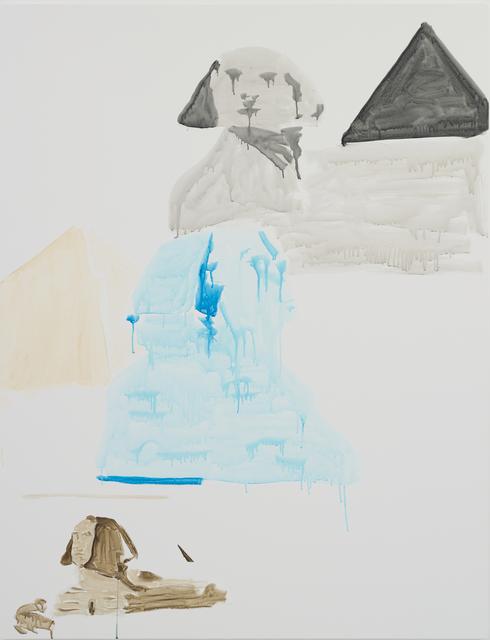 , 'Three Sphinx,' 2017, Hakgojae Gallery
