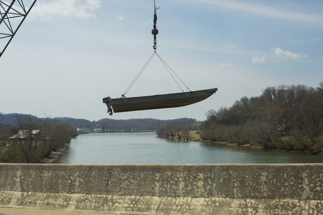 , 'Floating Boat, Knoxville, Tennessee,' 2014, HATHAWAY | Contemporary Gallery