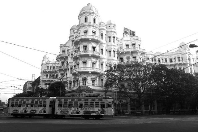 , ''Esplanade Mansions' Colonial Art Nouveau architecture, Calcutta,' 2013, Sundaram Tagore Gallery
