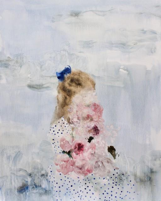 , 'Lake (polka-dots + peonies),' 2019, Galerie de Bellefeuille