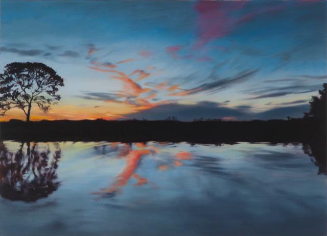, 'Long River Sunset,' 2015, DANESE/COREY