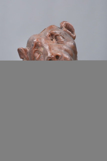 , 'Wax Figure of a Panther Head,'  Late 19th/Early 20th Century, Brun Fine Art