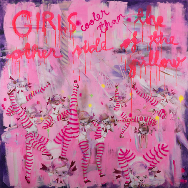 Katja Tukiainen, 'GIRLS cooler than the other side of the pillow', 2018, MAKASIINI CONTEMPORARY