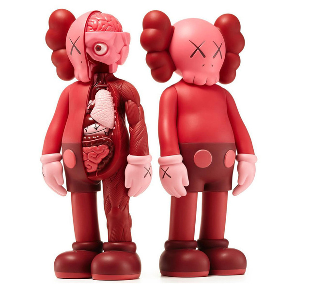 KAWS, 'KAWS Red Blush companions (complete set of 2)', 2016, Lot 180