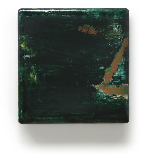 , 'Dark Green 3,' 2015, Pearl Lam Galleries