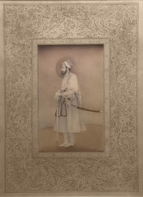 Shahzia Sikander, 'Miniature in Mughal Style: Imaginary Man', 1991-1992, Sean Kelly Gallery